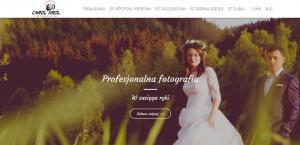 Strona domowa profesjonalnego fotografa