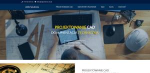 ADG Solutions - dokumentacja CAD oraz samostery wiatrowe