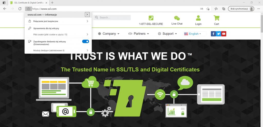 Szyfrowanie SSL na stronie internetowej
