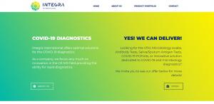 Integra International - dystrybutor testów wirusowych